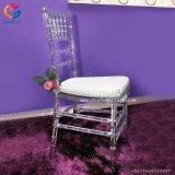 Hermoso y nuevo estilo de moda resina transparente silla Chiavari