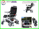 Sin escobillas de tecnología líder en la silla de ruedas eléctrica, plegable, ligero y portátil