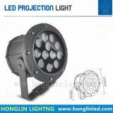 Reflector/proyector de RoHS del Ce de la luz 3*3W del suelo del jardín de la iluminación del LED