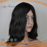 실크 최고 Virgin 머리 여자 가발 (PPG-l-0523)