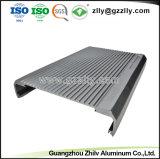 Perfil de aluminio Venta caliente para el disipador de calor del radiador de equipos de audio para coche