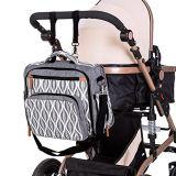 Nuovo zaino del pannolino del bambino del sacchetto di modo di stile