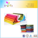 Farben-Filz-Gewebe-Blatt des Polyester-160GSM für Fertigkeit