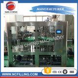 Botella de vidrio máquina de llenado de bebidas carbonatadas