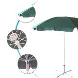 Parapluie de plage estampé par coutume promotionnelle chaude de parasol de vente grande