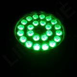 24X12W RGBW DMX imprägniern IP65 LED im Freiennennwert Licht