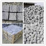 Granito Cubestone, pietra per lastricati cubica grigia, cubo naturale del granito di spaccatura/pietra del ciottolo