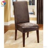 Различные цвета ткани горячая продажа наращиваемые металлические имитация дерева кресло