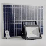 Ripari di alluminio esterni della parete del proiettore solare con il montaggio il sensore di movimento del radar del Palo e del telecomando
