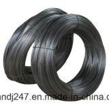 黒は結合作業のための鉄ワイヤーをアニールした