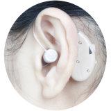 Tipo análogo função silenciosa atrás do dae (dispositivo automático de entrada) de audição recarregável da orelha