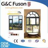 Doppia apertura della lastra di vetro fuori della finestra di alluminio da vendere