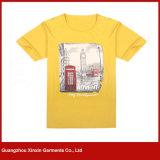 T-shirt feito-à-medida do poliéster da impressão do Sublimation (R18)