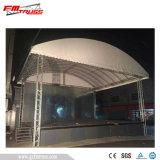 Fascio portatile del tetto del baldacchino del fascio della fase della tela incatramata del PVC