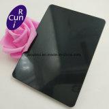 Schwarzer Spiegel PVD beschichtete 8K Edelstahl-Blatt des Ende-304 dekoratives der Farben-4X8