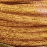 Materia textil a prueba de calor de goma del manguito de aire de las especificaciones de encargo tejido
