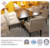 Muebles chinos del restaurante con los muebles de madera fijados (YB-R-12)