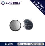 Célula libre del botón del litio de la fábrica de China del Mercury y del cadmio en el bulto (3V CR2016)