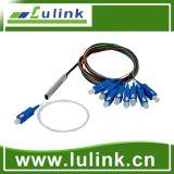 Divisor do PLC da fibra óptica de Blockless da alta qualidade
