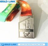 Souvenir de récompense de concurrence de chemin de médailles de Taekwondo de médaille de sports de coutume