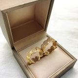 Geliebt-Ring-Paar-Ringe eingestellt mit Gold überzogenem Vergoldungzircon-Stein