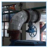 Hemisferio excéntrico Válvula de bola para canalización de la cristalización de soda