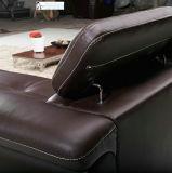 居間の家具(31)の高品質の卸売価格の本革のソファー