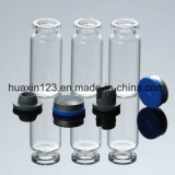 Inyección tubular de vidrio de borosilicato media botella (1ml 50ml).