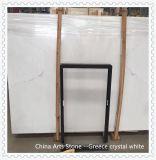 Cinese e lastra di marmo bianca di cristallo del Vietnam per la decorazione della parete e del pavimento