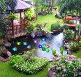 Lichten van /Garden/House van de Vijver van de Nacht van de zonne Waterdichte het Drijven van Lotus LEIDENE Bloem van de Schijnwerper de kleur-Veranderende voor Pool /Party/Gift voor Kerstmis