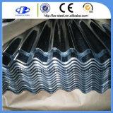 Lamiera galvanizzata ondulata strato rivestito del tetto del metallo del tetto dello zinco