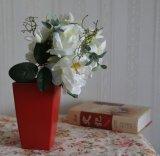 Ramo de seda artificial / Flor de plástico &Lily /Rose /Peony