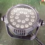 La IGUALDAD al aire libre del poder más elevado LED de DMX 24X12W puede encenderse