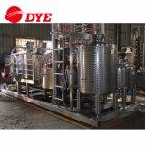 240 galones de la combinación de cuba de puré y todavía eliminar el equipo de la destilación con la columna de cobre y Swanneck para las bebidas espirituosas que destilan