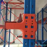 Hoogste Efficiency die RuimteOplossing de Op zwaar werk berekende Aandrijving van het Pakhuis van het Staal in het Rekken opslaan