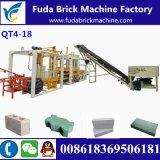 De populairste Machine van de Baksteen van de Betonmolen van de Kleur van de Machine van het Blok van het Cement Holle Auto
