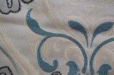 Tela de materia textil casera del telar jacquar de 2016