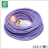 Vde-UL-verdrehte/runde Textilbaumwollumsponnenes elektrisches Gewebe-Kabel