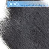 Новый продукт бразильского Jet человеческого волоса черного цвета