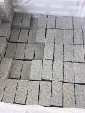 Pavés de granit G654/G603/G682 flammé/scie de coupe/Bush Cubes Hamered/bordures