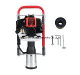 DPD-100 de mano de 100mm vibrante guardarraíl gasolina gas puesto de controlador para la venta