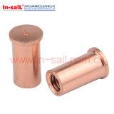 Noix de soudure de grand dos d'acier du carbone avec DIN928
