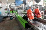 Профессиональные один винт пластиковый хлопья переработки и мощностей по производству окатышей экструдера