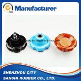 Gummibakelit-Plastikkräuselung-Drehknopf für Werkzeugmaschinen-Zubehör