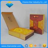 Forma de libro impreso personalizado Papel cartón té Caja de regalo
