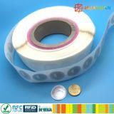 인쇄할 수 있는 종이 ntag213 NFC RFID E 지불 꼬리표 레이블