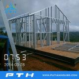 Camera chiara prefabbricata della villa della struttura d'acciaio come costruzione modulare