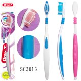 Alça de borracha, escova de dente adulto normal