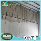El panel de emparedado del cemento del aislante termal EPS del bajo costo de Zjt para la pared interna