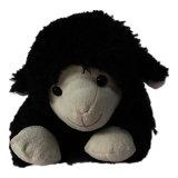 Brinquedo macio dos carneiros pretos do Velveteen de Shu